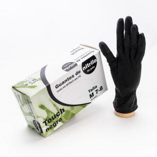 Guante Nitrilo Negro (Pack de 100 ud)