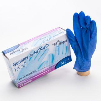 Guante Nitrilo Azul (Pack de 100 ud)