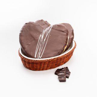 Palmeras de chocolate rellenas de crema (Ud)