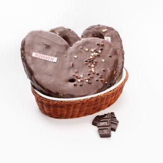 Palmeras de chocolate rellenas de kinder (Ud)