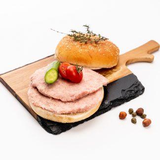 Hamburguesa De Cerdo.(350 grs aprox.4 unidades)
