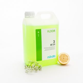 Limpiador Neutro Suelo Y Superficies Limon Con Bioalcohol (Garrafa de 5 Lt.)
