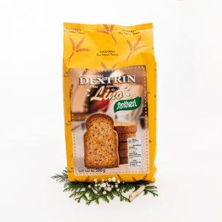 Pan Tostado Natural Con Semillas De Lino (Bolsa de 300 grs)